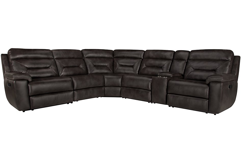 Phoenix Dark Gray MICRO Small Two-Arm Manually Reclining ...
