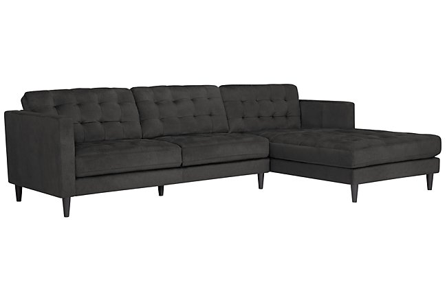 2 Accent Chairs And A Tv And Sectional.City Furniture Living Room Furniture Sectional Sofas