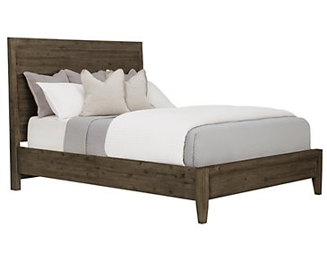 Casablanca Dark Tone Panel Bed