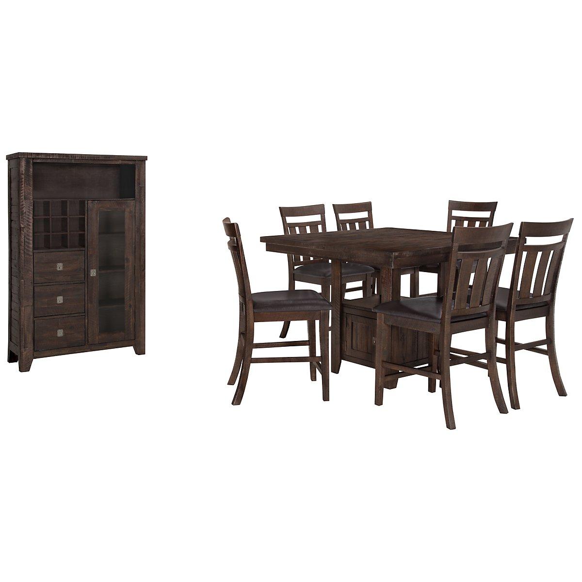Kona Grove Dark Tone High Small Dining Room