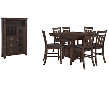 Kona Grove Dark Tone High Small Dining Room