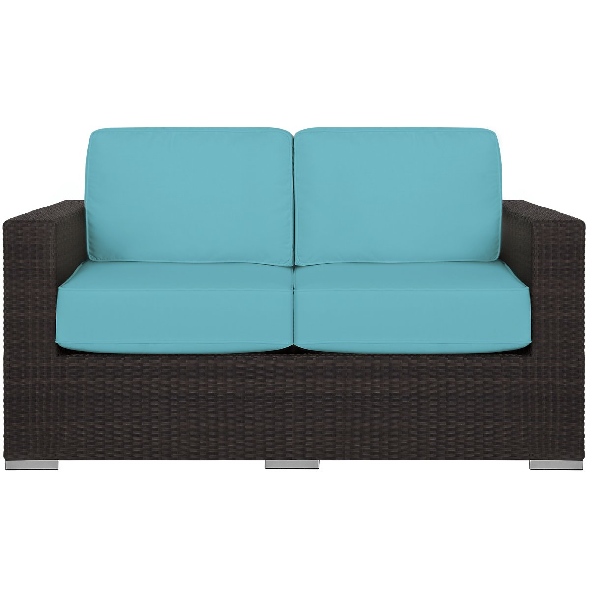 City Furniture Fina Dark Teal Loveseat
