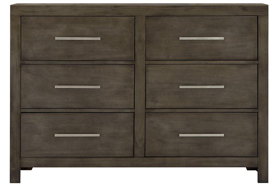 Omaha Gray Dresser | Bedroom - Dressers | City Furniture