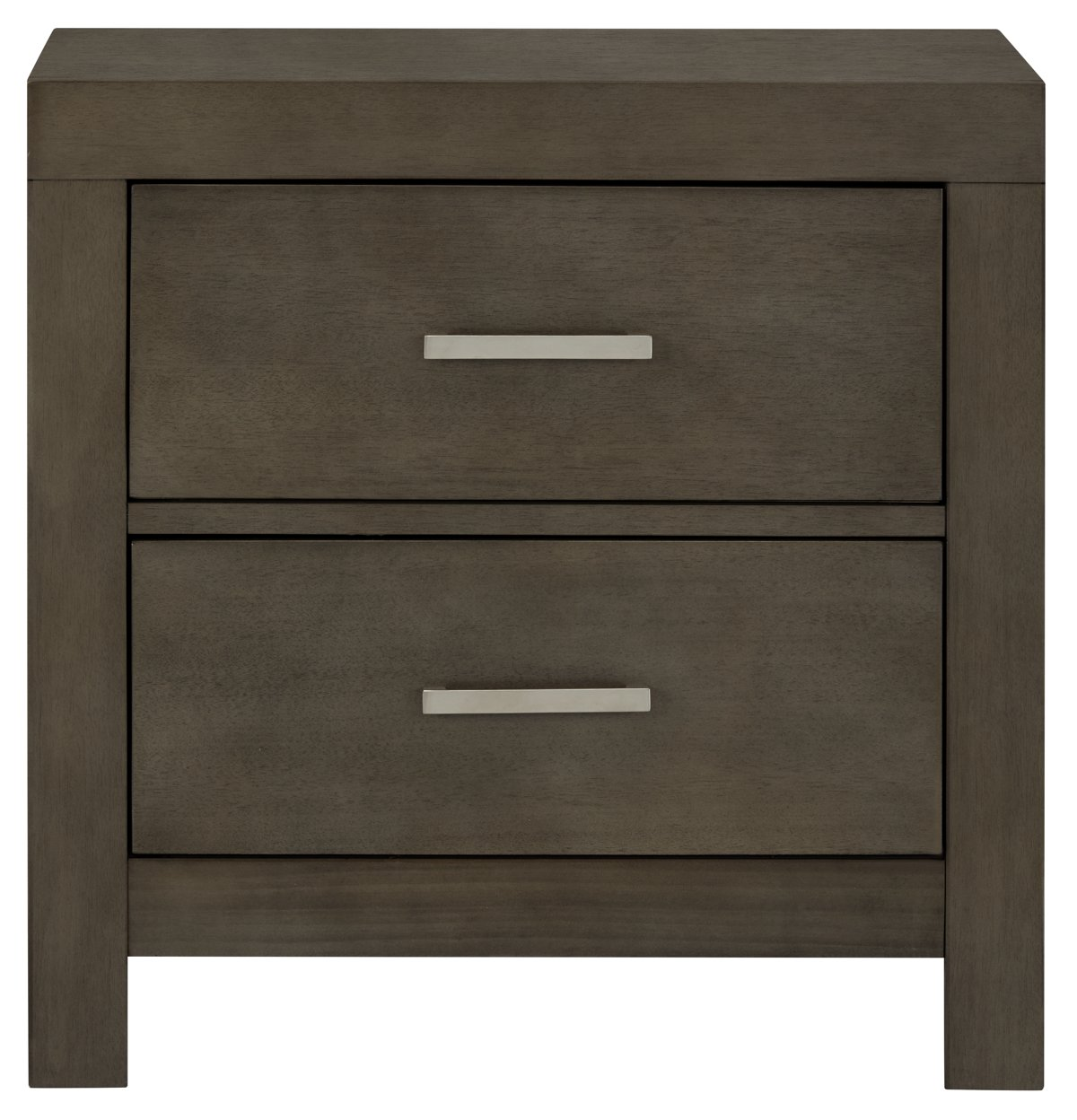 Bedroom Furniture Omaha city furniture: omaha gray nightstand