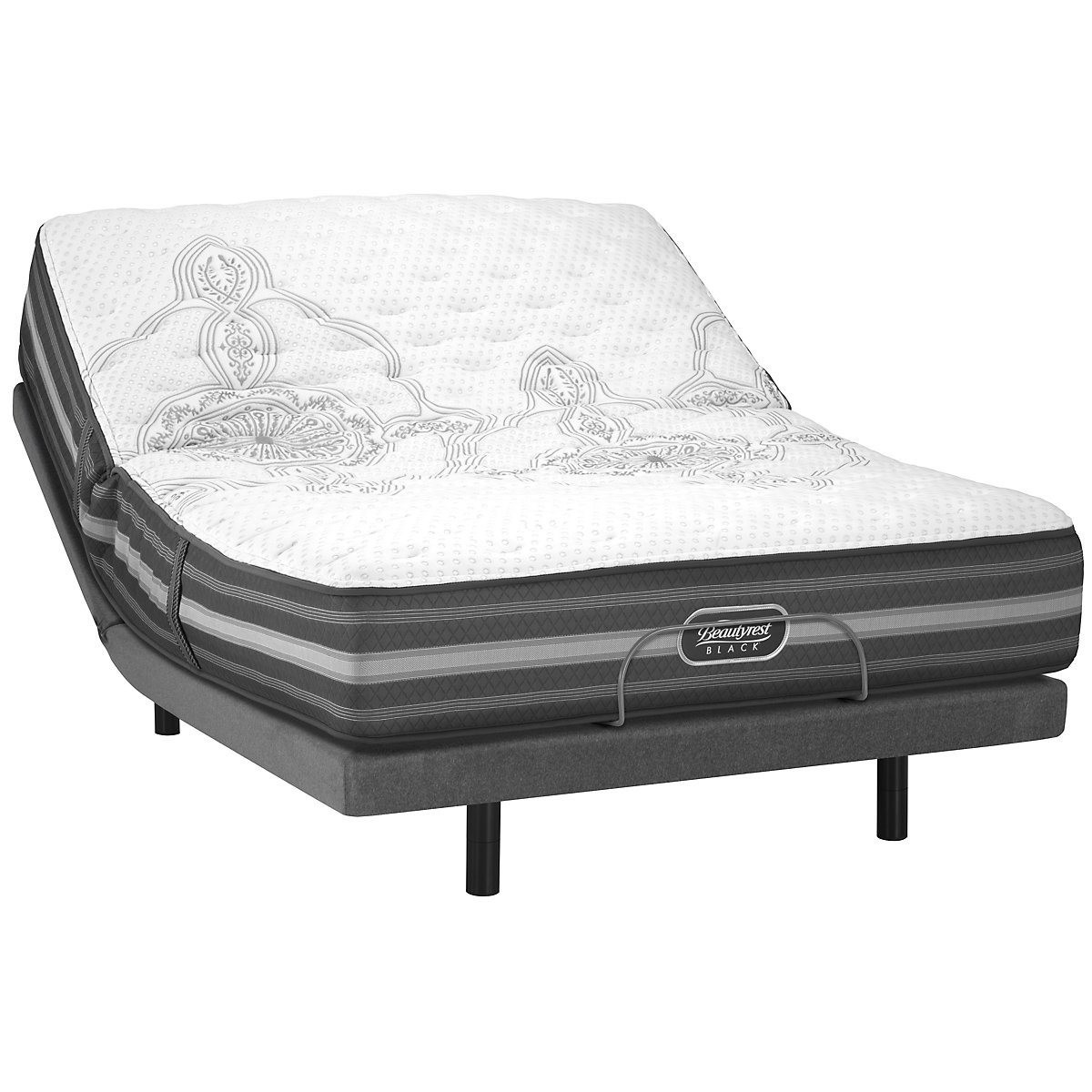 Beautyrest Black Calista Extra Firm Innerspring Elite Adjustable Mattress Set