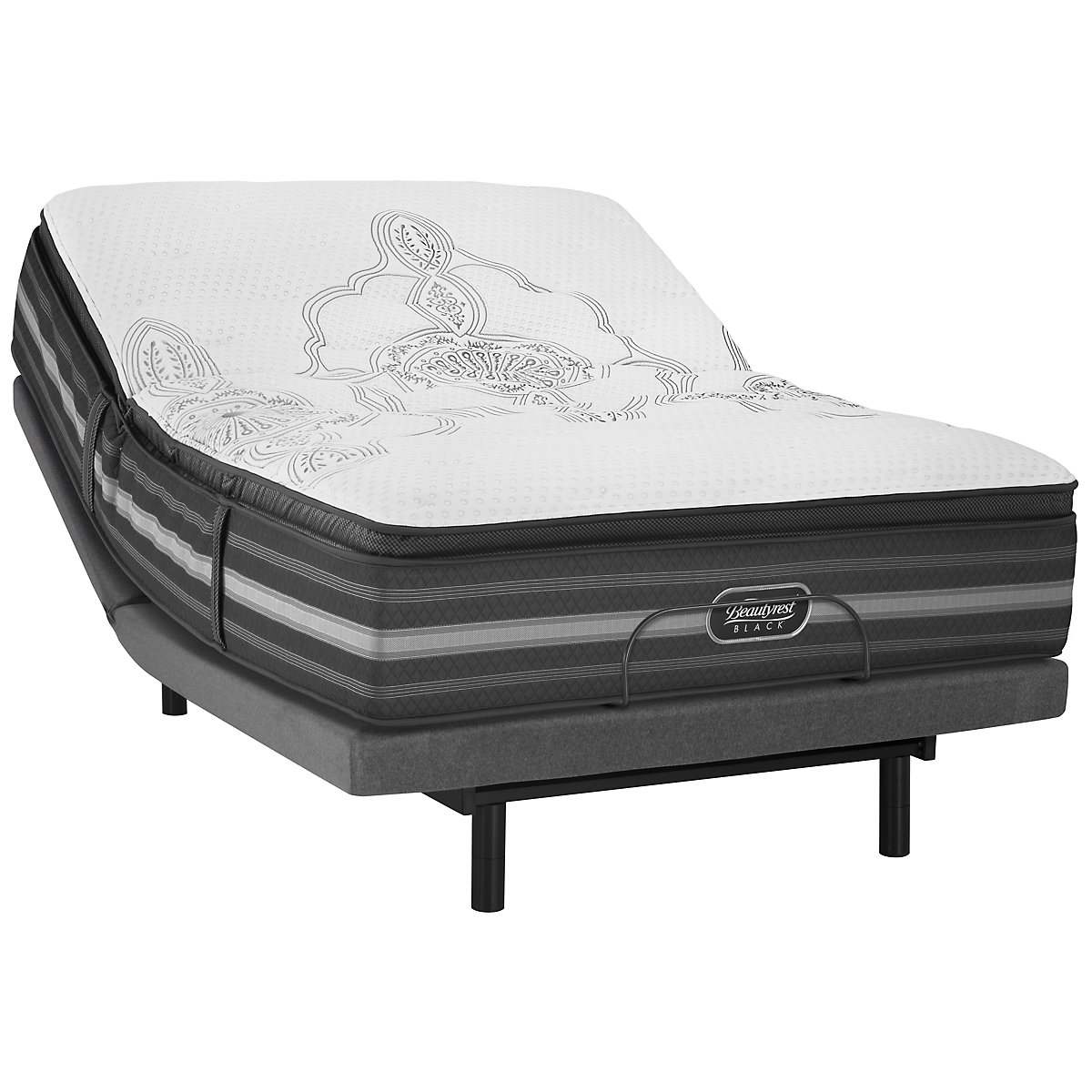 Beautyrest Black Katarina Plush Innerspring Select Adjustable Mattress Set
