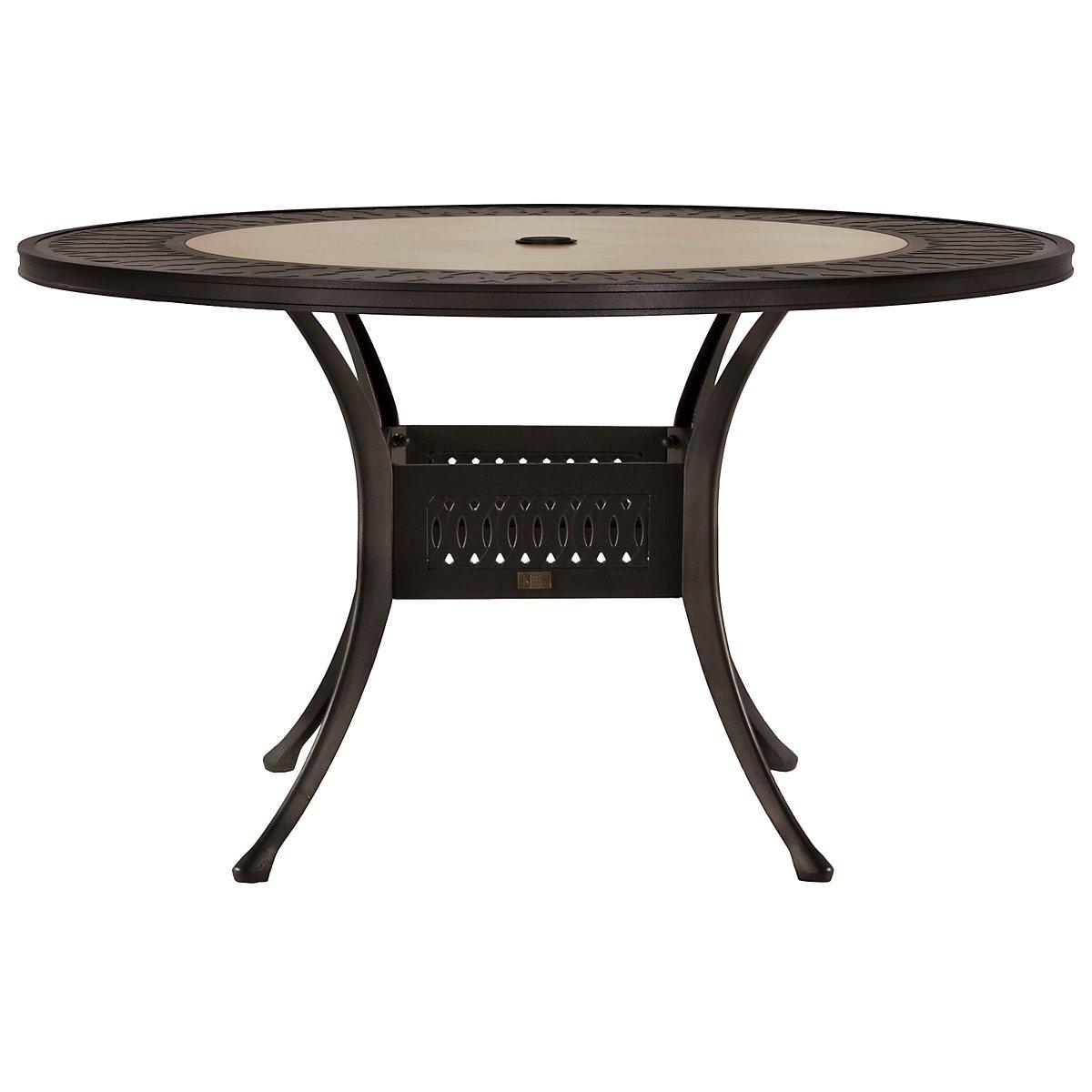 "Primera Stone 54"" Round Table"