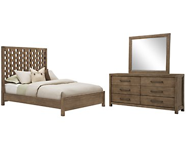 Mirabelle Light Tone Panel Bedroom