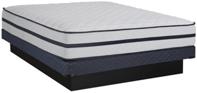 Kevin Charles Courtland Luxury Firm Innerspring Low-Profile Mattress Set