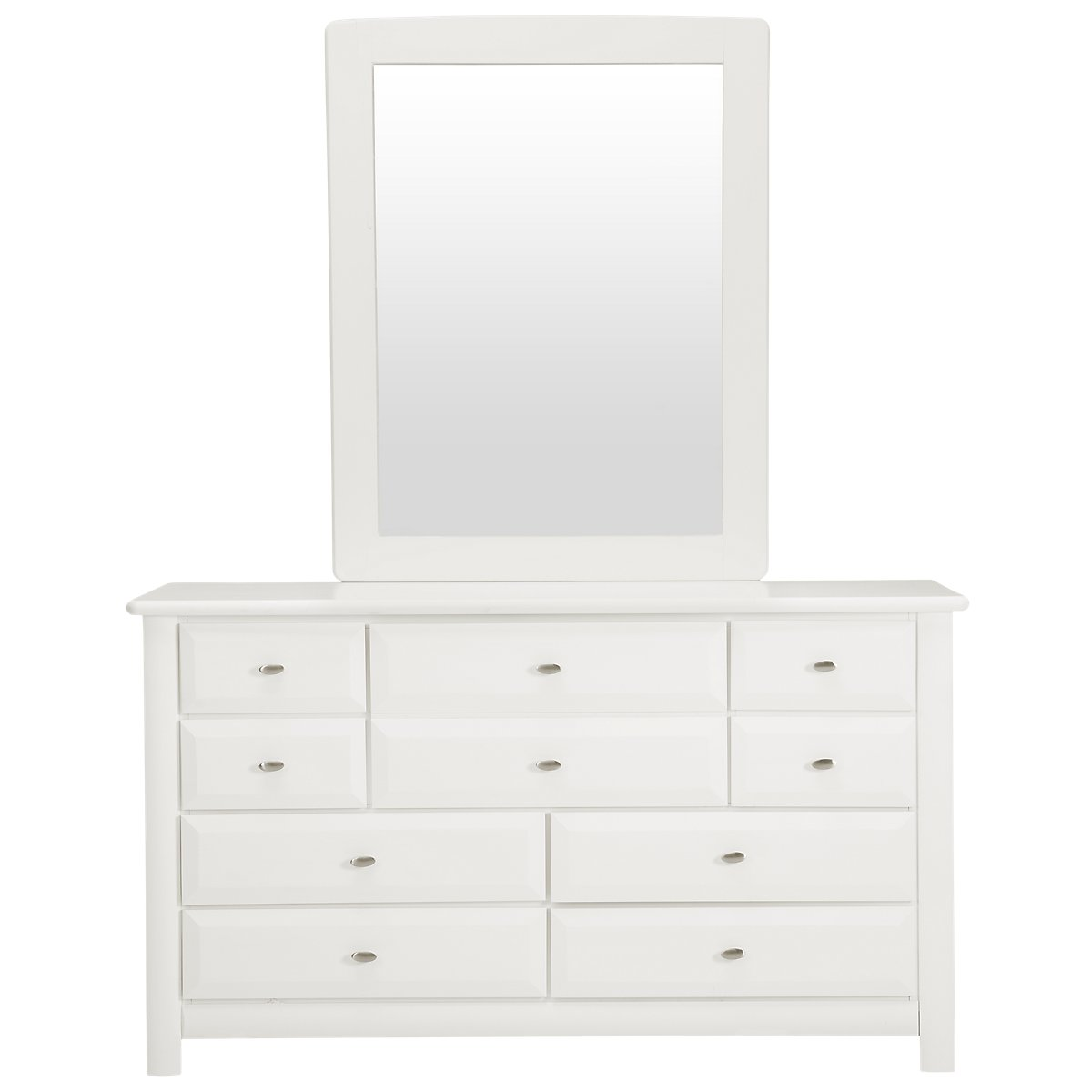 City Furniture Laguna White Dresser Mirror