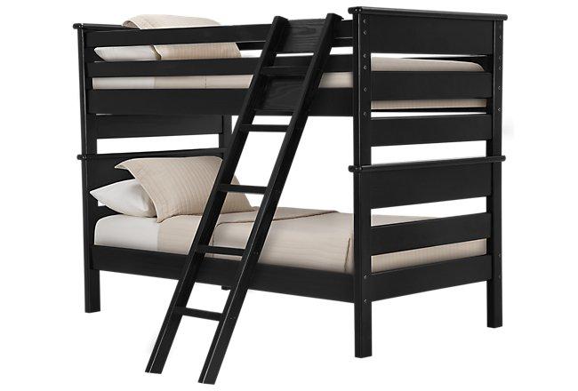 Laguna Black Wood Bunk Bed