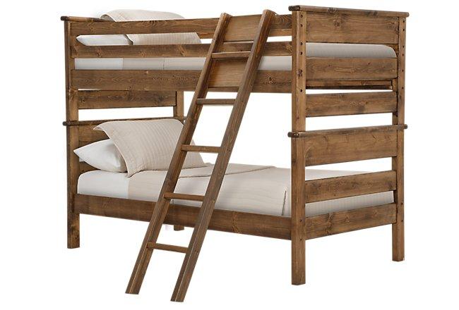 Laguna Dark Tone Wood Bunk Bed