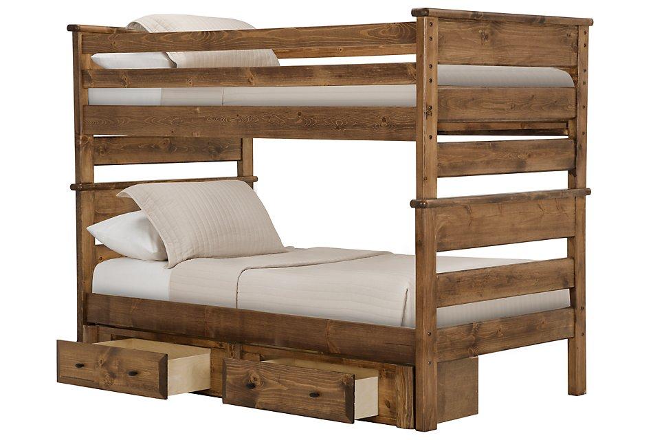 Laguna Dark Tone  Storage Bunk Bed