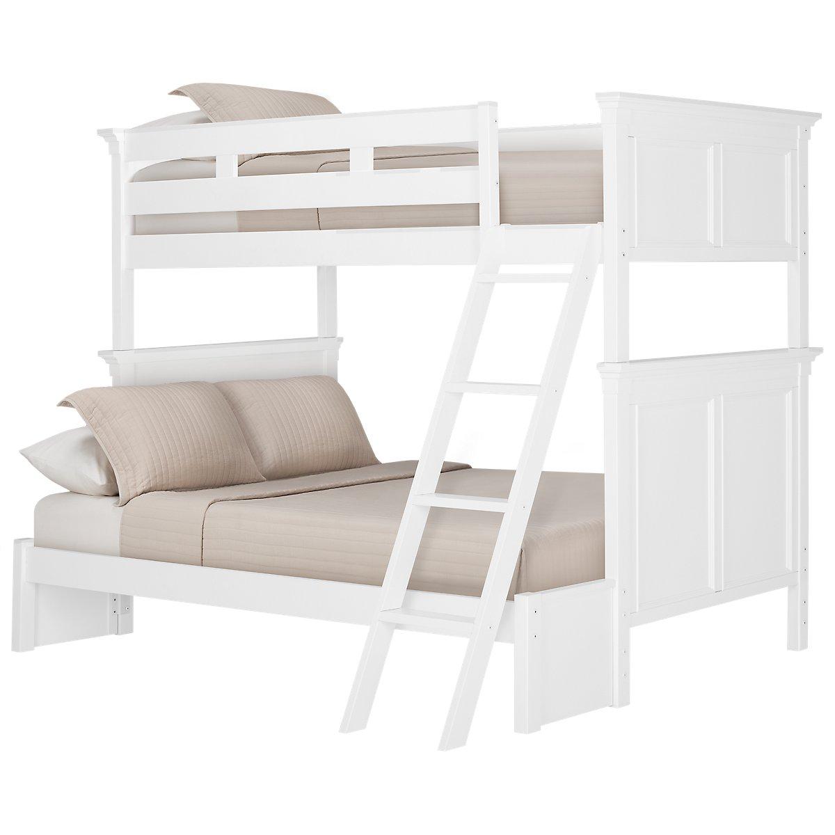 Tamara White Wood Bunk Bed   Baby & Kids - Bunk Beds ...