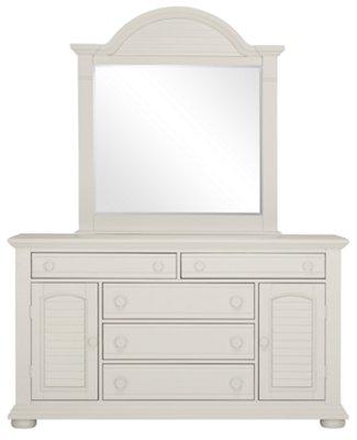 City Furniture Quinn White Dresser