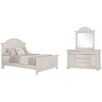 Quinn White Panel Bedroom
