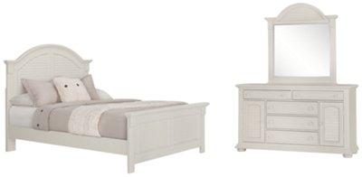 Great Quinn White Panel Bedroom