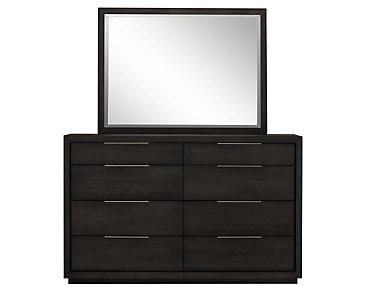 Madden Dark Tone Dresser & Mirror