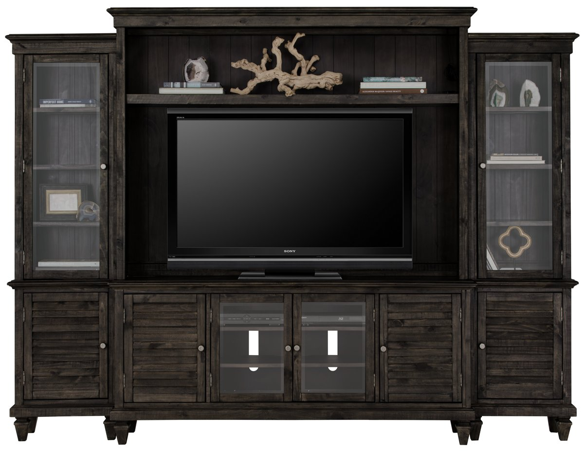 City Furniture: Sonoma Dark Tone Entertainment Wall