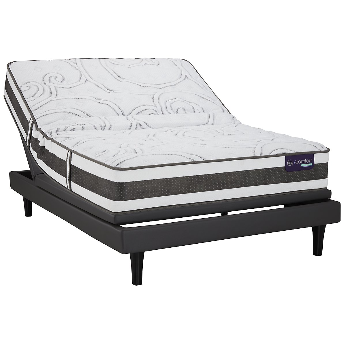 Serta iComfort Applause2 Hybrid Motion Perfect™ III Adjustable Mattress Set