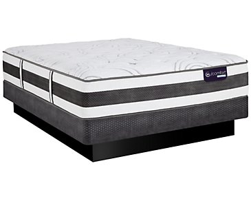 Serta iComfort Recognition Plush Hybrid Low-Profile Mattress Set