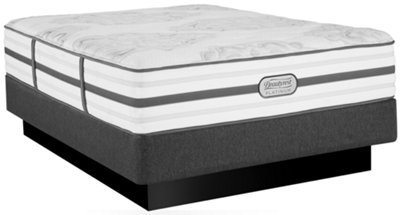 beautyrest platinum brittany plush innerspring mattress set