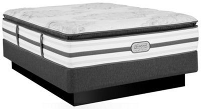 Beautyrest Platinum Gabriella Plush Innerspring Pillow Top Mattress Set