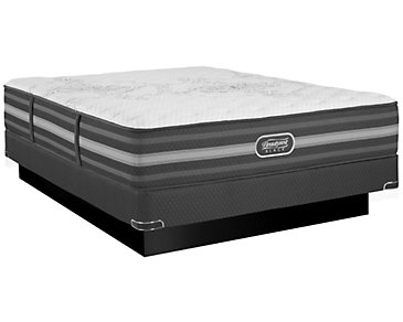 Beautyrest Black Calista Extra Firm Innerspring Low-Profile Mattress Set