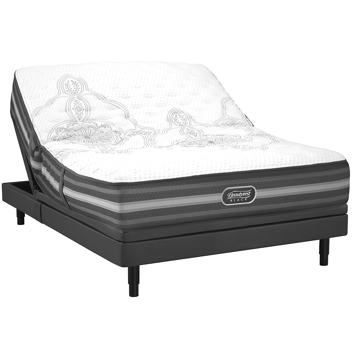 Beautyrest Black Calista Extra Firm SmartMotion™ 2.0 Adjustable Mattress Set