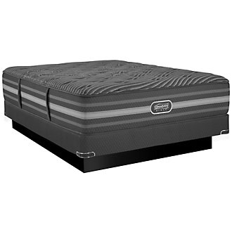 Beautyrest Black Mariela Luxury Firm Innerspring Low-Profile Mattress Set