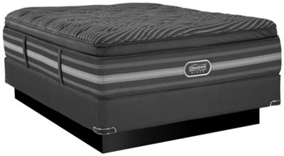 beautyrest black natasha luxury plush innerspring pillow top mattress set