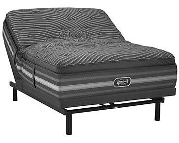 Beautyrest Black Natasha Luxury Plush SmartMotion™ 1.0 Pillow Top Adjustable Mattress Set