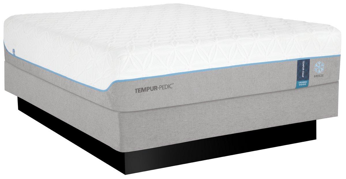 TEMPUR-Cloud® Luxe Breeze 2.0 Tempur® Mattress Set