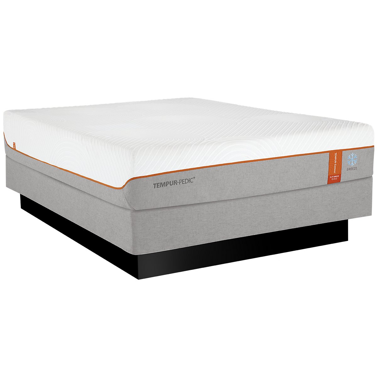 TEMPUR-Contour™ Elite Breeze Mattress Set