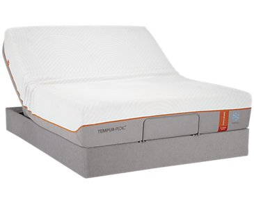 TEMPUR-Contour™ Elite Breeze TEMPUR-UP™ Adjustable Mattress Set