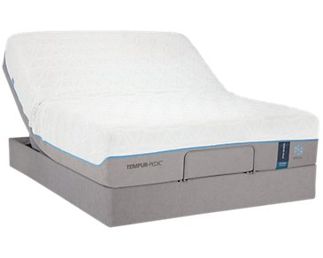 TEMPUR-Cloud® Luxe Breeze 2.0 TEMPUR-UP™ Adjustable Mattress Set