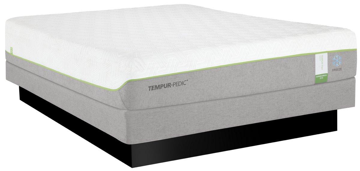 TEMPUR-Flex® Supreme Breeze Tempur® Low-Profile Mattress Set