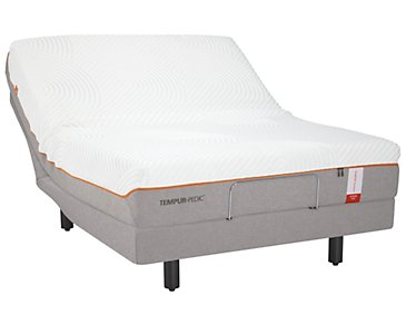 TEMPUR-Contour™ Supreme TEMPUR-Ergo™ Premier Adjustable Mattress Set