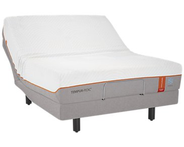 TEMPUR-Contour™ Elite Breeze TEMPUR-Ergo™ Premier Adjustable Mattress Set