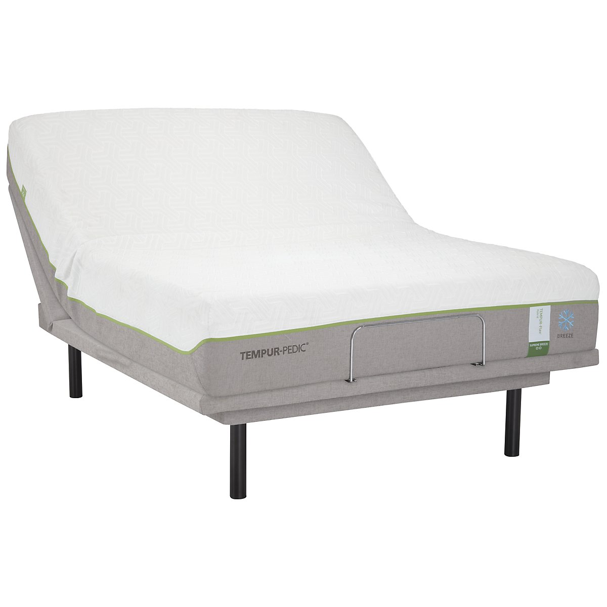 TEMPUR-Flex® Supreme Breeze TEMPUR-Ergo™ Plus Adjustable Mattress Set