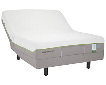 TEMPUR-Flex® Supreme Breeze TEMPUR-Ergo™ Premier Adjustable Mattress Set