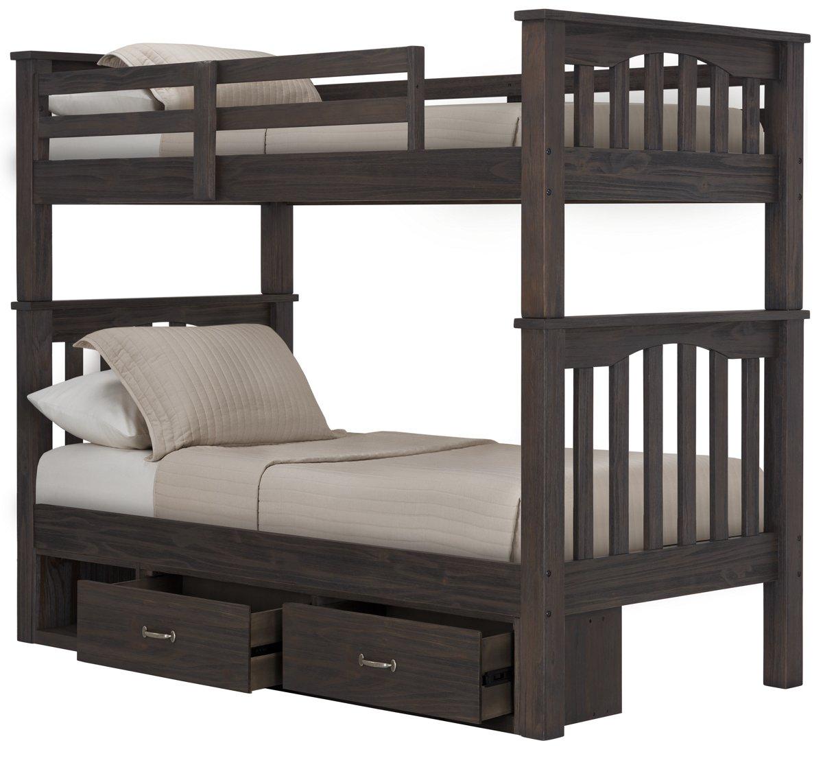 City Furniture Highlands Dark Tone Storage Bunk Bed