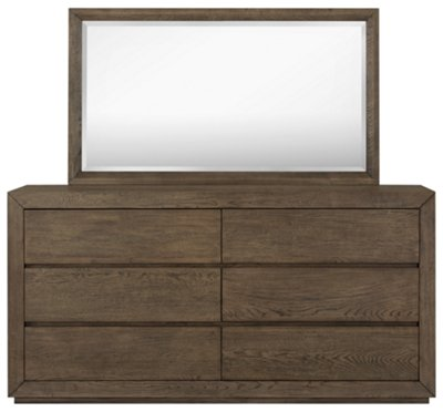 Rylan Light Tone Dresser & Mirror