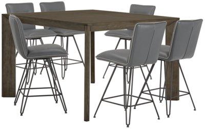 rylan gray high dining table