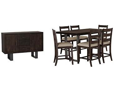 Sawyer Dark Tone High Dining Room