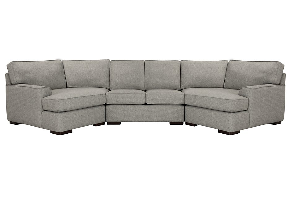 Superb Austin Gray Fabric Dual Cuddler Sectional Living Room Andrewgaddart Wooden Chair Designs For Living Room Andrewgaddartcom