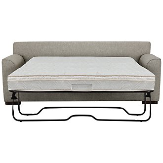 Austin Gray Fabric Innerspring Sleeper