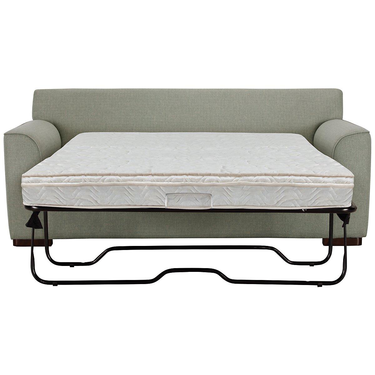 Austin Green Fabric Innerspring Sleeper
