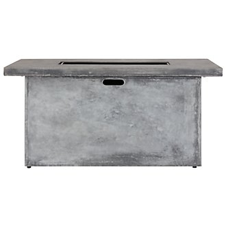 Canyon Gray Rectangular Fire Pit