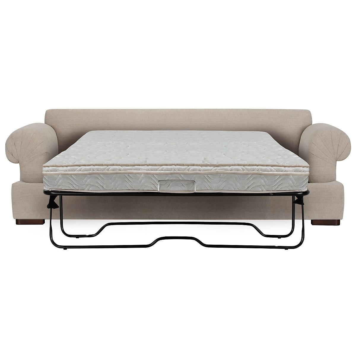 Belair Light Taupe Fabric Innerspring Sleeper